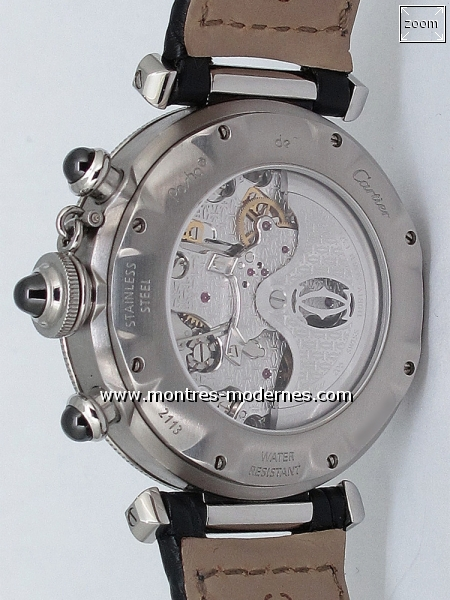 Cartier Pasha Chronographe Automatique 38mm réf.W3107355 - Image 2