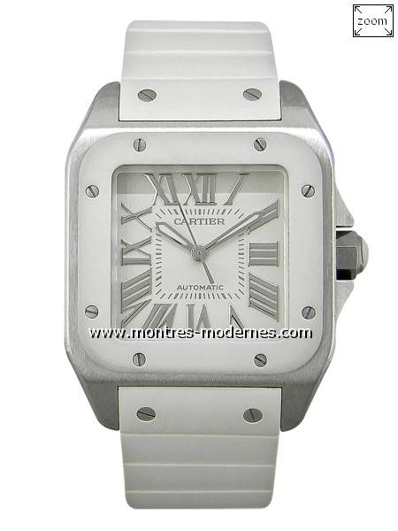 Cartier Santos 100 Lady Automatique - Image 1